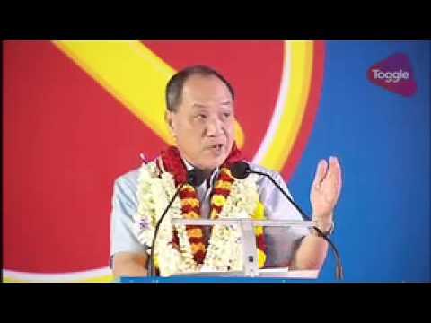 GE2015: Low Thia Khiang speaks at WP rally at Serangoon Stadium, Sep 8