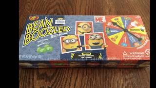 Matt's playtime.  Bean boozled challenge Minion Edition
