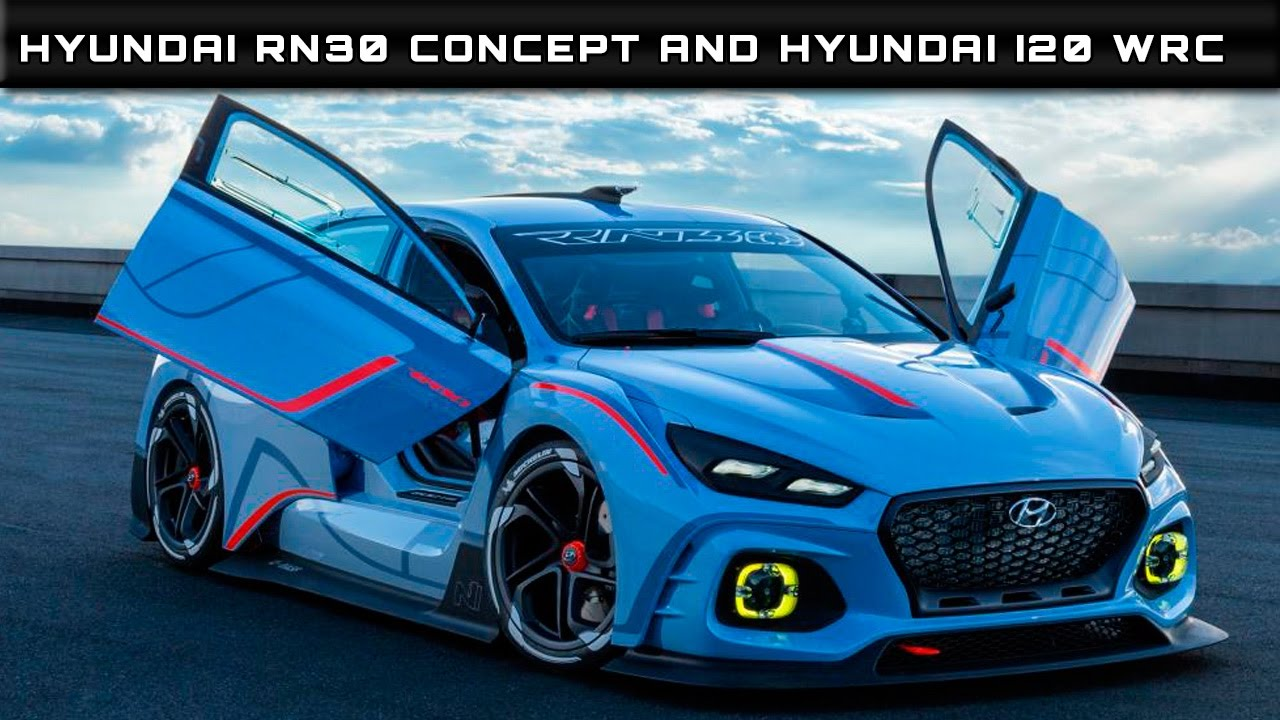 2016 Hyundai Rn30 Concept And Hyundai I20 Wrc Review Rendered Price Specs Release Date