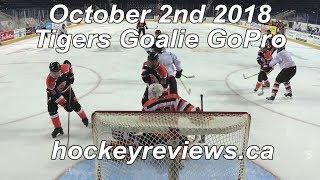 October 2nd 2018 Tigers Hockey Goalie GoPro