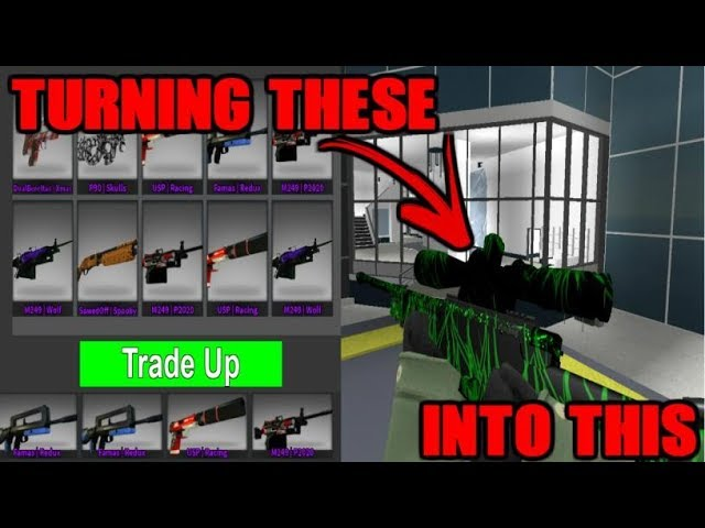 Getting Halloween Skins From Tradeups Counter Blox Youtube
