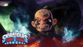 "Official Skylanders Trap Team:  ""Trapping Kaos"" Trailer"