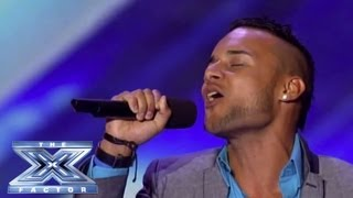 Jorge Pena - Latin Ice Cream Man vs. The Ladies - THE X FACTOR USA 2013