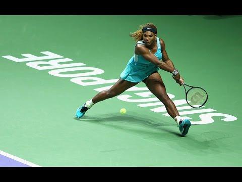Serena Williams vs Genie Bouchard | 2014 WTA Finals Highlights