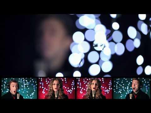 Silent Night - Peter Hollens feat. Savannah Outen