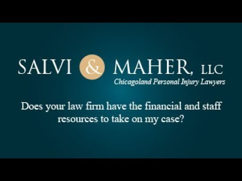 Does your law firm have the financial and staff resources to take on my case?