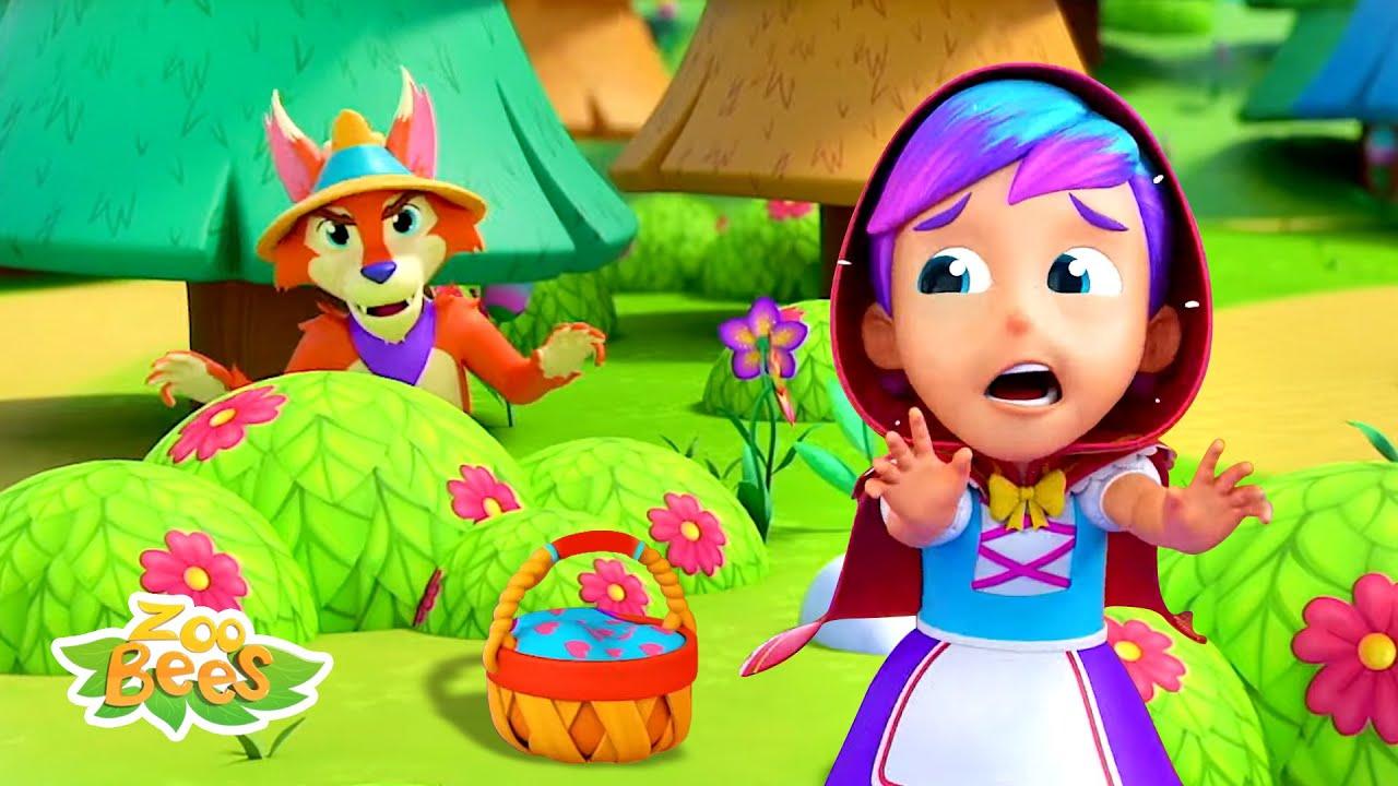 Little Red Riding Hood & More Cartoon Stories | Kids Song | Pretend Play | Nursery Rhymes - Kids TV