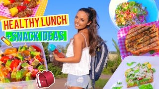 HEALTHY LUNCH + SNACK IDEAS FOR BACK TO SCHOOL 2016! VEGETARIAN AND VEGAN | Kristi-Anne Beil