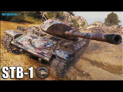 ВЫСШИЙ СКИЛЛ 11К УРОНА ✅ STB-1 World of Tanks лучший бой