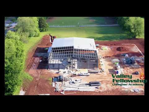 04-27-2017 Construction Progress Report Valley Fellowship Christian Academy