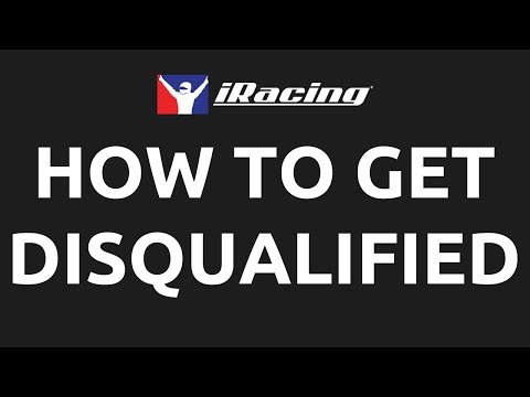 iRacing: How to get disqualified
