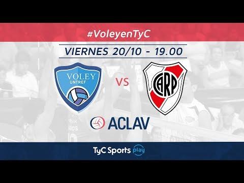 Copa ACLAV: UNTREF vs. River Plate | #VoleyEnTyC