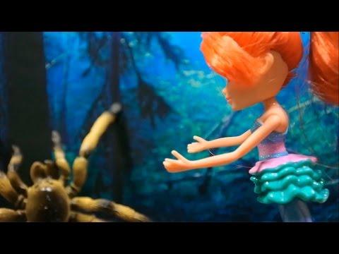 Игры для девочек мультфильм Клуб Винкс Блум спасает Машу Winx Club Bloom saves Masha