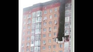 Смотреть видео Взрыв в жилом доме в Новой Москве онлайн