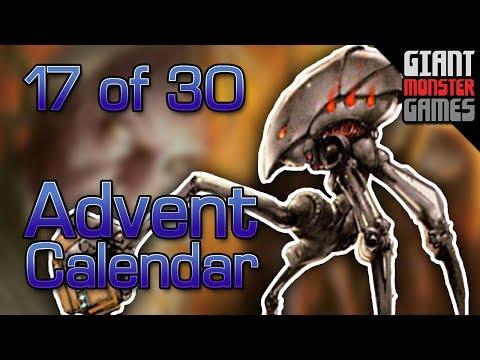 Giant Monster Advent Calendar 2017: Deck 17 of 30