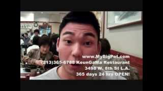 Popular 365 days 24 hours open Korean Restaurant in Los Angeles by all Asians