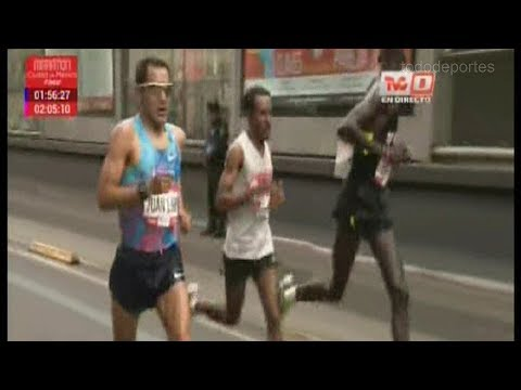 Maraton Internacional de la  Ciudad de Mexico 2017 - Completo y con Juan Luis Barrios