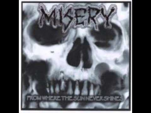 MISERY - From Where The Sun Never Shines