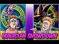 Yugioh! DARK MAGICIAN SHOWDOWN!!  QUINTET EXODIA! VS CHAOS DARK MAGICIAN!