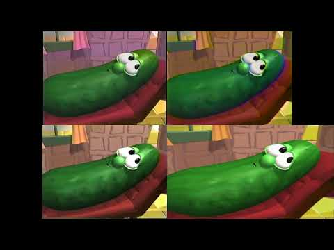 VeggieTales - Dave And The Giant Pickle - I Love My Lips comparison