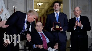Lawmakers honor Bob Dole at Congressional Gold Medal ceremony