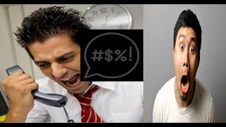 racist scammer tries to sell his mum for sex prank call scammer vs scammer