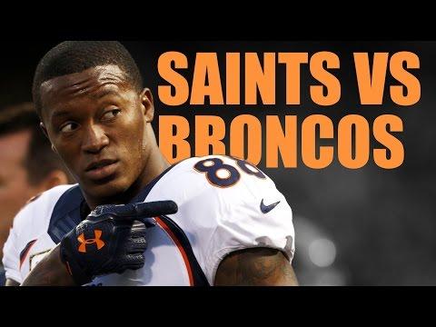Broncos vs Saints Predictions