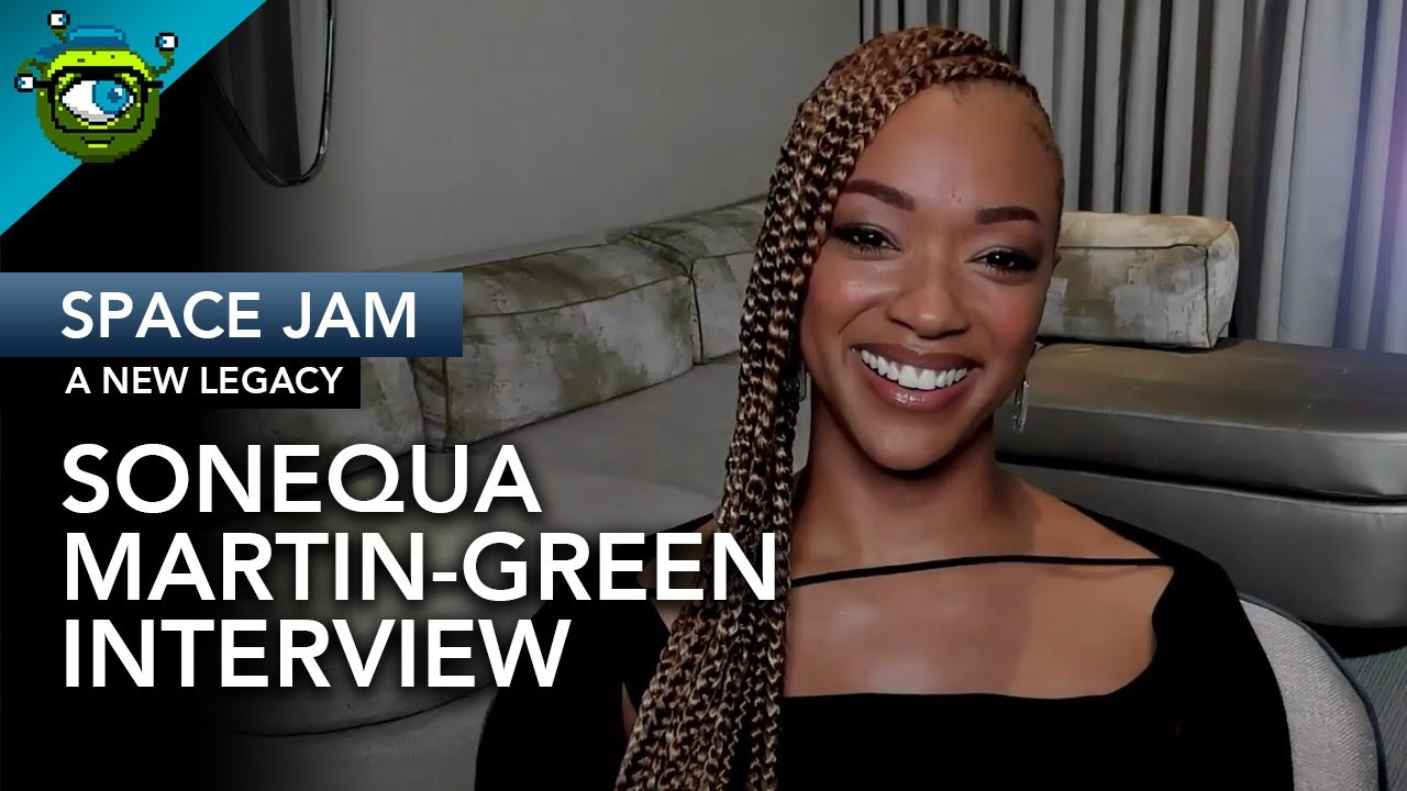Sonequa Martin-Green on 'Space Jam: A New Legacy' and ...