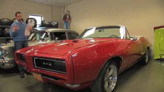1968 Pro Touring GTO convertible for sale with test drive, driving sounds, and walk through video