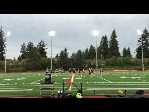 Lynnwood High School Cheer Halftime 9/16/16