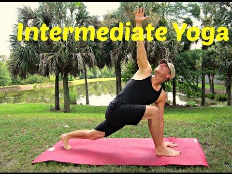 35 min Intermediate Yoga Class - 'Sean is 40 Years Old