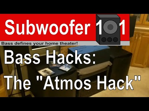 Bass Hacks: Dolby Atmos Hack (Atmos Not Working?) DTS:X