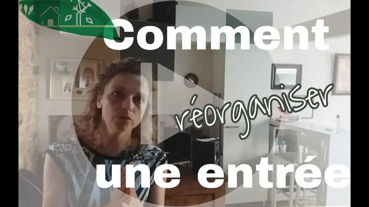 comment aménager une entrée ouverte sur salon - youtube