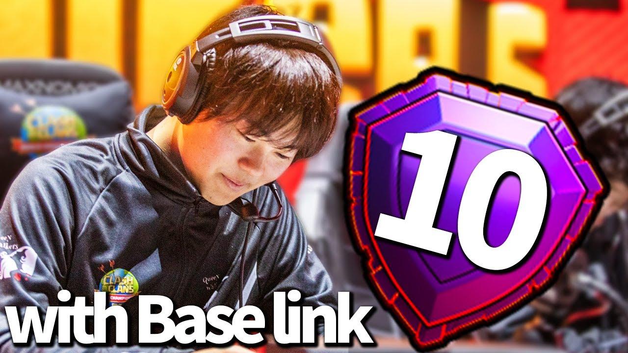 グローバルTOP10フィニッシュ!!GAKUのインタビュー&配置LINK!!【クラクラ】