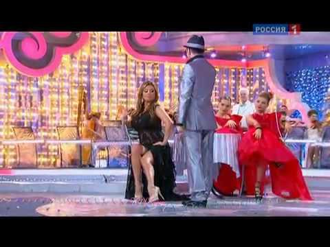 видео: Анна Семенович и  Тимур Родригес. 31.12.2011