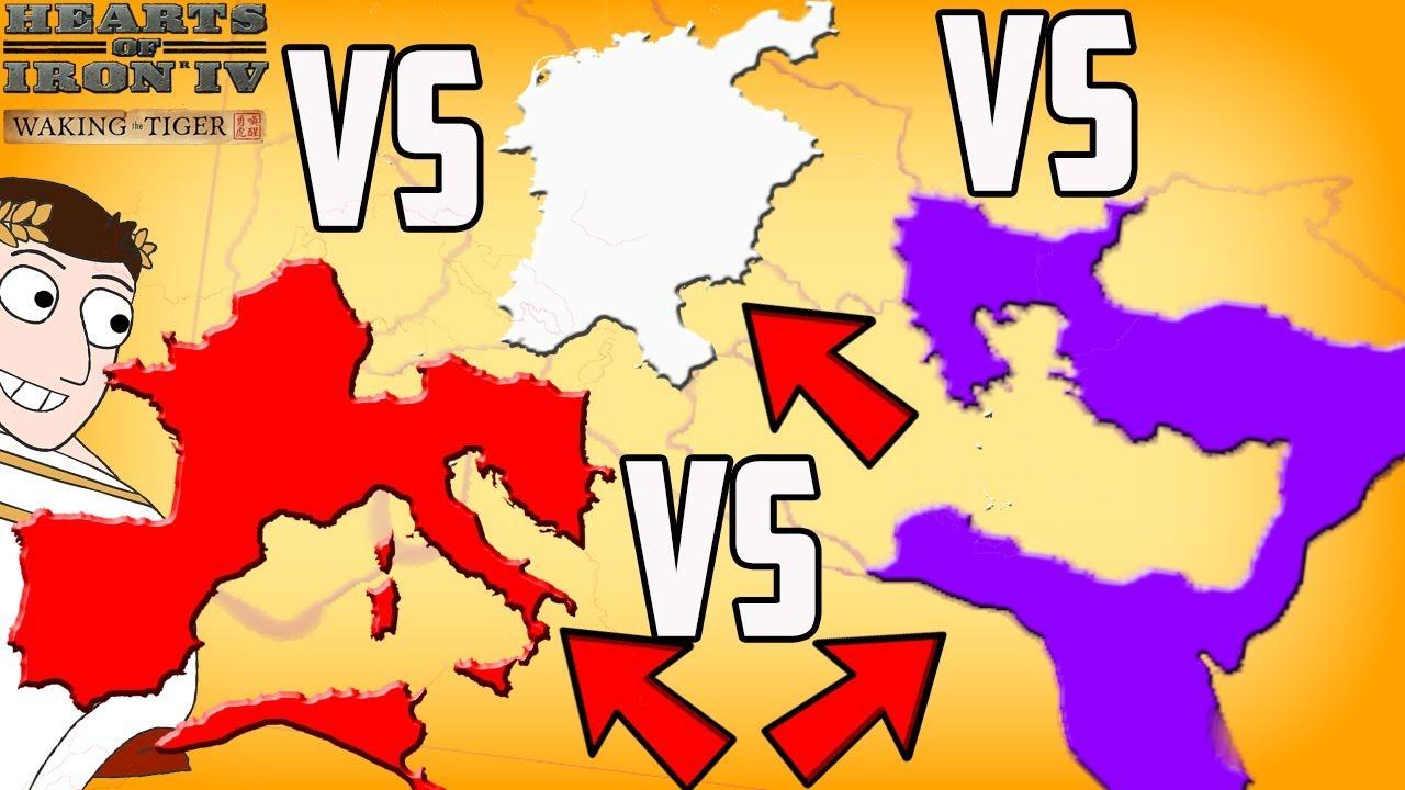 Western V Eastern V Holy Roman Empire Battle Royale Hearts Of Iron
