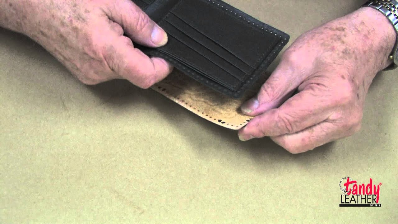 Tandy Leather #44019-02 FREE SHIPPING! Premier Wallet Kit