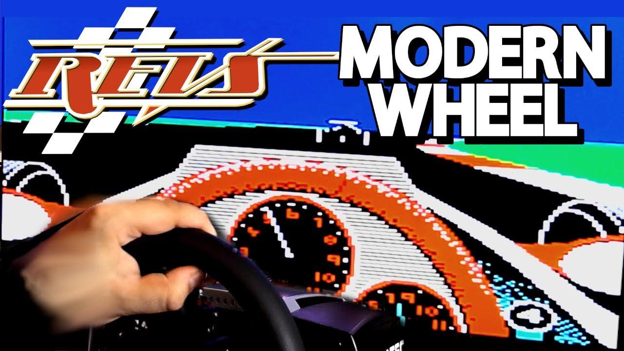 Racing 1984's REVS with a Modern Fanatec Wheel