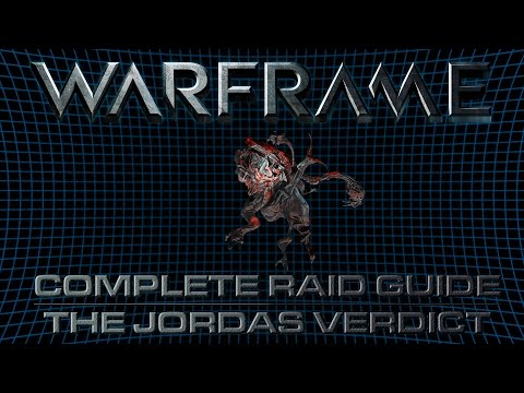 ISEGaming - The Jordas Verdict (Warframe Raid Guide /w Comme