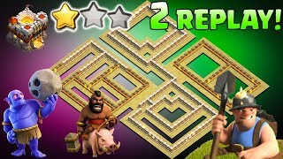 New TH11 War Base 2019 With Replays Anti Bowler Anti Miner |CoC NEW Town Hall 11 Defense Strategy