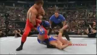 Kurt Angle vs. Chris Benoit - Royal Rumble 2003 Highlights HQ