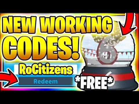 Roblox Rocitizens Codes 2019 Destaber December 2019 All 9 New Secret Op Working Codes Roblox Rocitizens Youtube