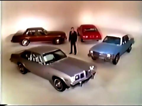 '75 General Motors Cars Commercial (1974)