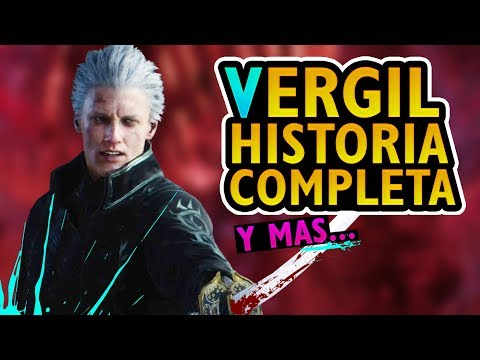 Historia Completa de Vergil │Información de Devil May Cry thumbnail