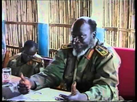 Dr. John talking about Dr. Riek Machar - This was in July - 2000