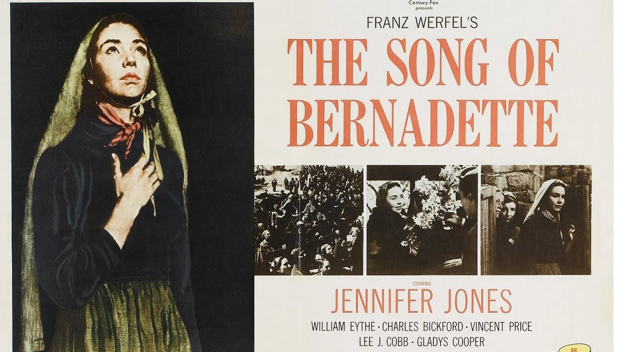 The Song of Bernadette 1943 (Film)   Lourdes   Our Lady of Lourdes ...