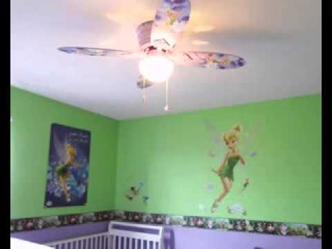 Diy Tinkerbell Room Decorating Ideas
