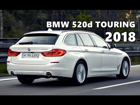 2018 bmw 520d touring driving exterior interior youtube. Black Bedroom Furniture Sets. Home Design Ideas