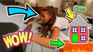 OUR NEW HOUSE TOUR!? THE FLOOR IS LAVA!! + GIVEAWAY WINNERS!!
