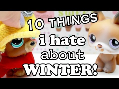 LPS - 10 Things I Hate About WINTER!